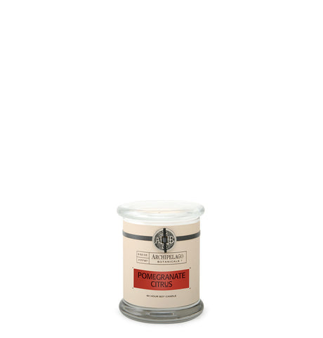 Pomegranate Citrus Glass Jar Candle