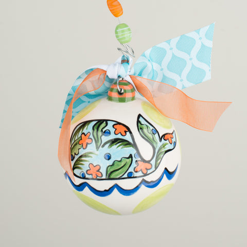I Whale Always Love You Ornament