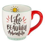 Life is a Beautiful Adventure Camper Mug