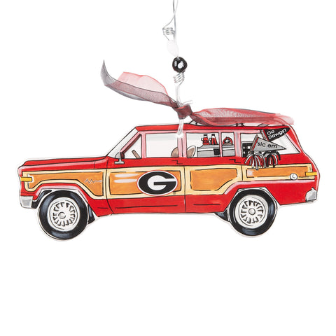 Georgia Wagoneer Ornament