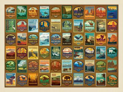 National Park Patches Puzzle
