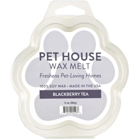 Pet House Wax Melt - Blackberry Tea