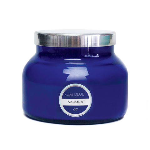 Volcano Candle - Blue