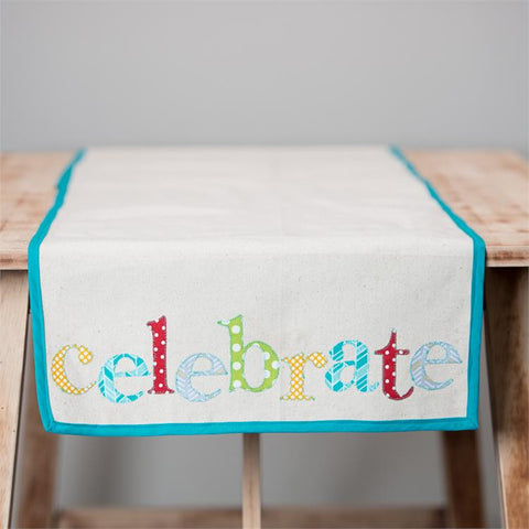 Celebrate Table Runner