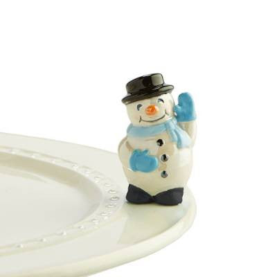 Nora Fleming Snowman Mini Frosty Pal A172