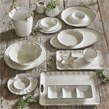 Veranda Ivory Melamine Serving Tray