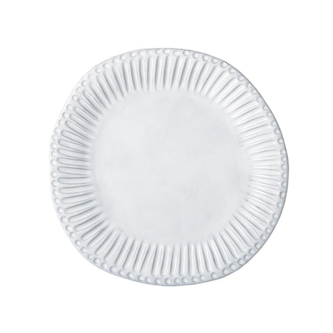 Incanto White Stripe European Dinner Plate