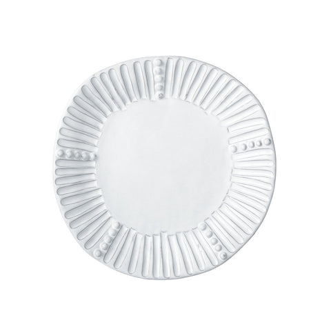 Incanto White Stripe Salad Plate