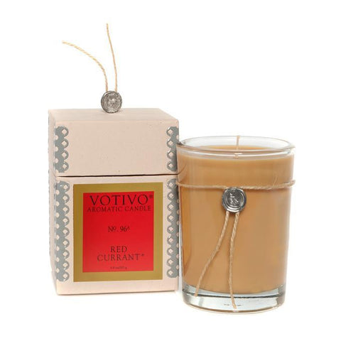 Red Currant Boxed Candle
