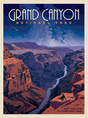 Grand Canyon Starry Nights Puzzle