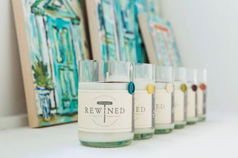 Rewined Candles Blanc Collection