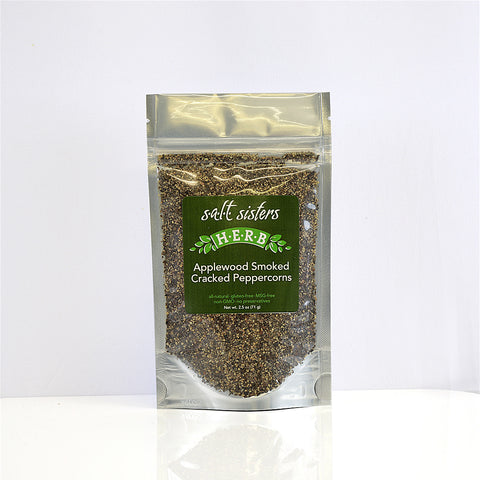 Applewood Smoked Cracked Peppercorns