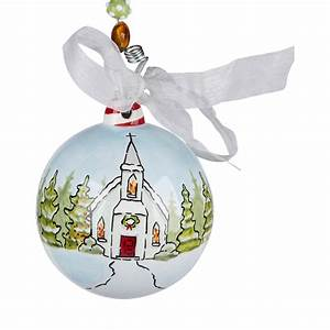 Christmas Church Ornament