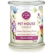 Pet House Candle - Wildflowers