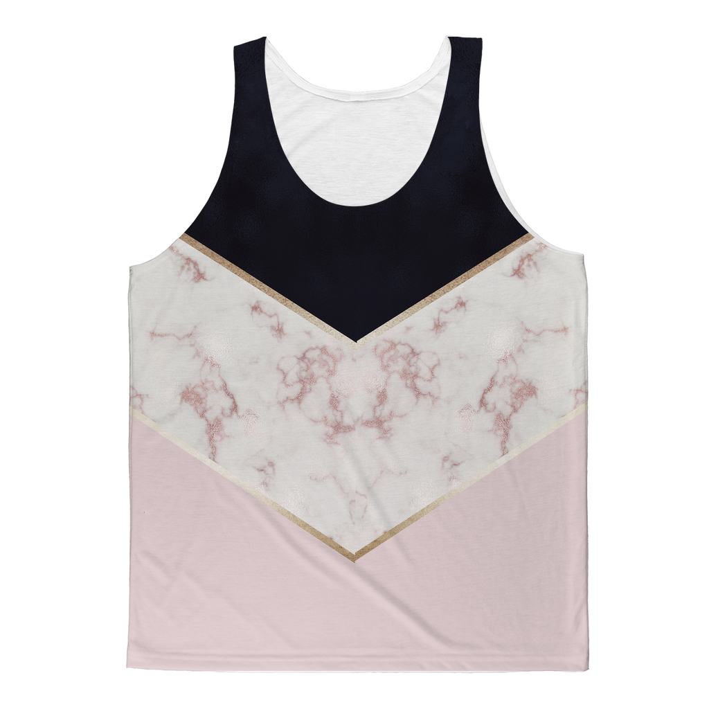 Tank Top | Sublimated Print | Blue Marble | Unisex | Adult
