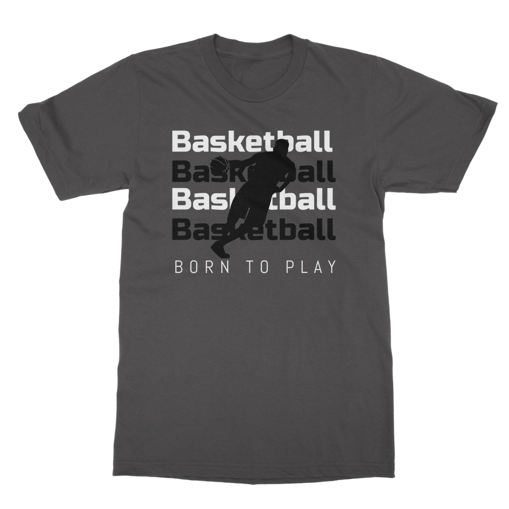 Basketball | Classic Adult T-Shirt | Unisex | Crew Neck