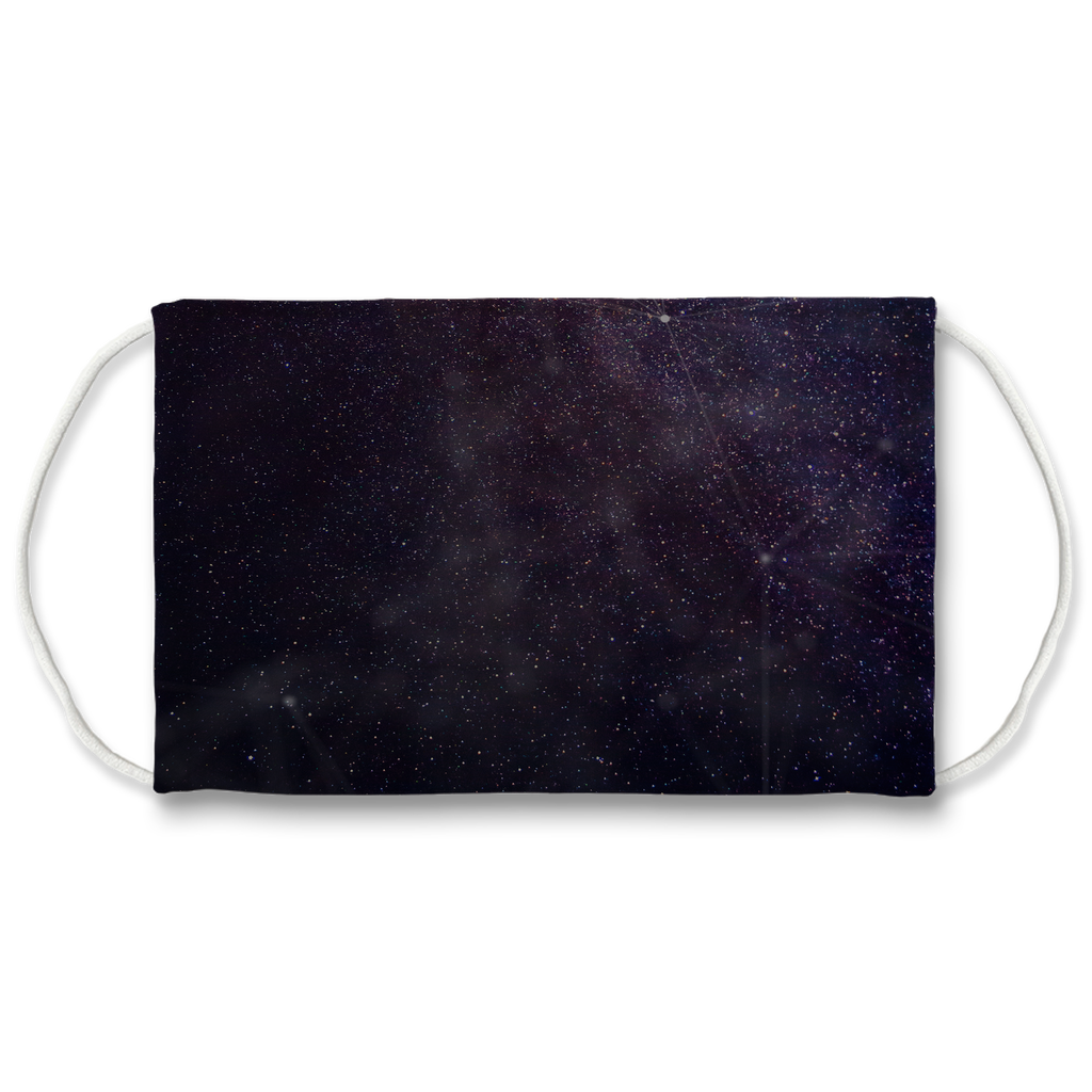 Face Mask | Sublimation Print | Galaxy | 7 Layer