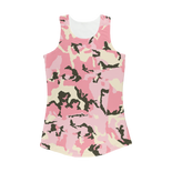 Performance Tank Top | Pink Camo | Women Sportswear