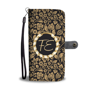 Customise It | Gold Floral | Add Your Initials | iPhone Models | Gift Idea