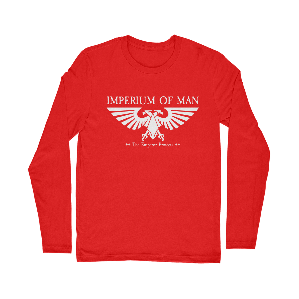 Imperium White Classic Long Sleeve T-Shirt