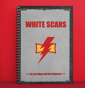 Notebook | White Scars