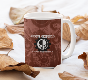 11oz Mug | Adeptus Mechanicus | Warhammer 40k | Gift Idea