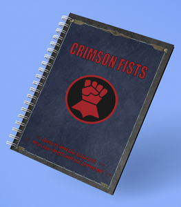 Notebook | Crimson Fists | Battle Planner