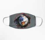 Facemask | Eagle Patriot | American Flag | Sublimation Face Mask