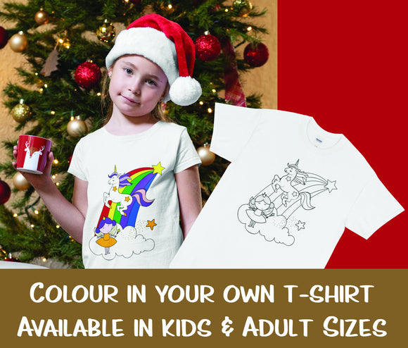 Christmas gift idea DIY textile T-Shirt Painting Kits
