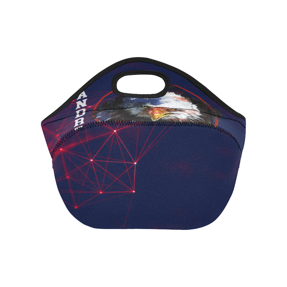 Customisable | Lunch Bag | Patriot Eagle | USA | Neoprene