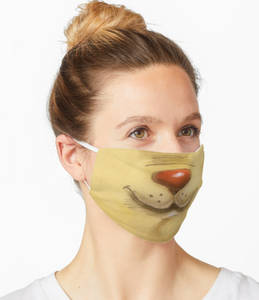 Facemask | Lion Face | Sublimation Print | 7 Layers
