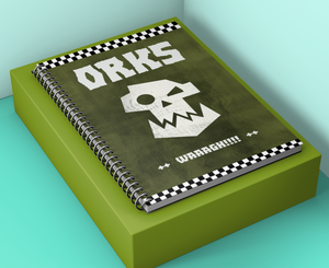 Notebook | Orks | WAAAGH!! | Battle Planner Journal