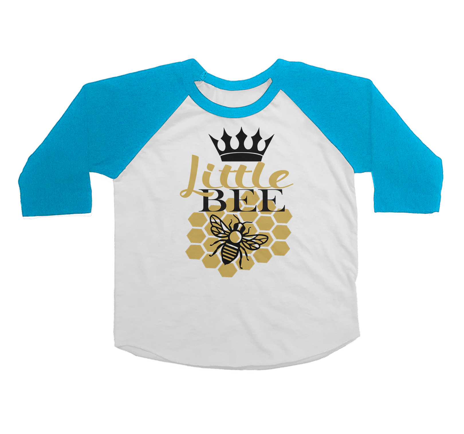 Bundle Raglan Shirts | Mum Toddler and Baby | Queen Bee