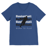 Basketball Classic V-Neck T-Shirt