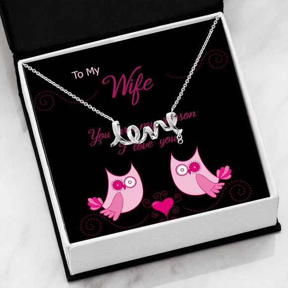 Wife Love Pendant -03