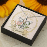 Be My Valentine | Dragonfly Pendant | Necklace | Customise It
