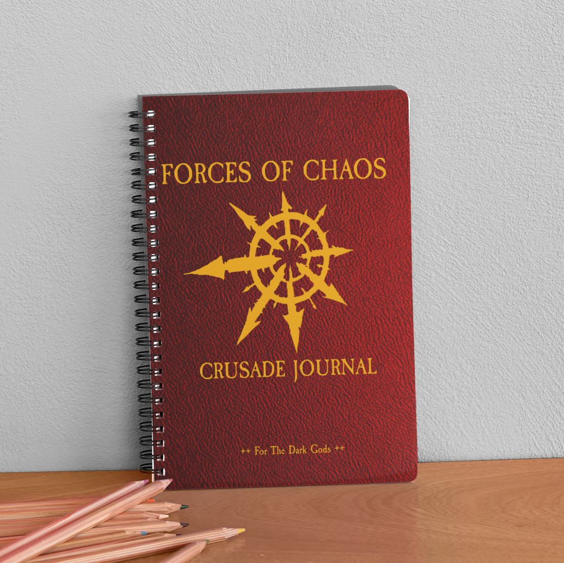 Chaos Undivided | Forces  of Chaos | Crusade Journal | Warhammer 40K