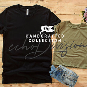 Couple Shirt Mockup - Bella + Canvas - Unisex Short Sleeve Jersey Tee - 3001 Black - 3413T Olive Triblend #0303