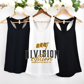 Couple Mockup  - Next level 1533 Tank top Mockup- Outfit Flat lay - Apparel Photography223