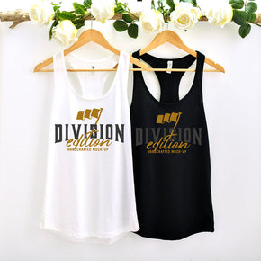 Couple Mockup  - Next level 1533 Tank top Mockup- Outfit Flat lay - Apparel Photography224