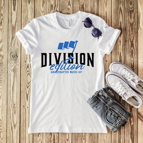 Shirt Mockup  - Bella Canvas 3001 T-Shirt -   White  - Outfit Flat lay - Apparel Photography #0578