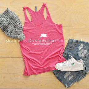 Tank top Mockup -Next Level - Women's Triblend Racerback Tank - 6733 Vintage Pink -  Apparel photography #1368