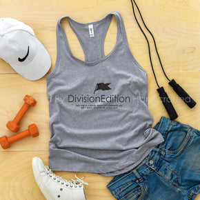 workout Mockup -Next Level - Women Ideal Racerback Tank Mock-up - 1533  Heather Grey - Outfit Flat lay - Apparel Photography #1384