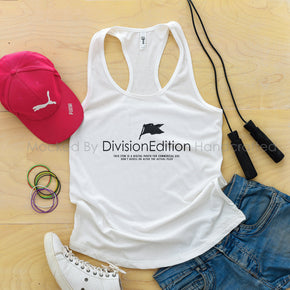 workout Mockup -Next Level - Women Ideal Racerback Tank Mock-up - 1533 White - Outfit Flat lay - Apparel Photography1  #1385