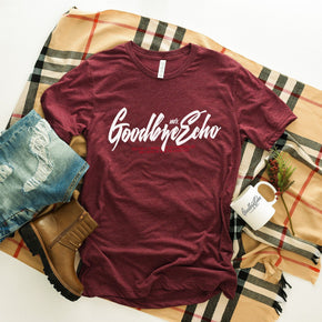 Fall Mockup - Bella Canvas 3413 majjForest T-Shirt Mockup - Apparel Photography - Flat lay