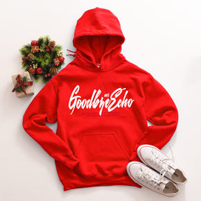 Christmas Mockup -Gildan Hoodie - 18500 mockup -Red - flat lay - photography