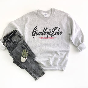 Sweatshirt  Mockup -Gildan - Heavy Blend Crewneck Sweatshirt - 18000 mockup - Ash - flat lay - photography