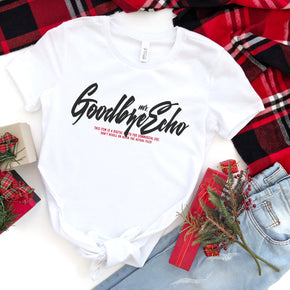 Christmas Shirt Mockup - Bella + Canvas - Women's The Favorite Tee - 6004 White - Outfit Flat lay - Apparel Photography