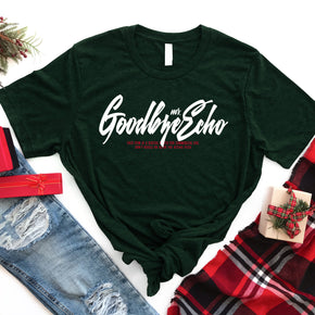 Christmas Mockup -Shirt Mockup - Bella Canvas Mockup 3413 Emerald Triblend - Flatlay Mockup - Apparel Photography
