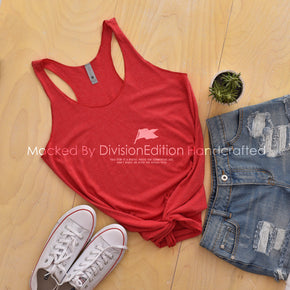 Tank top Mockup -Next Level - Women's Triblend Racerback Tank - 6733 Vintage Red -  Apparel photography #1373